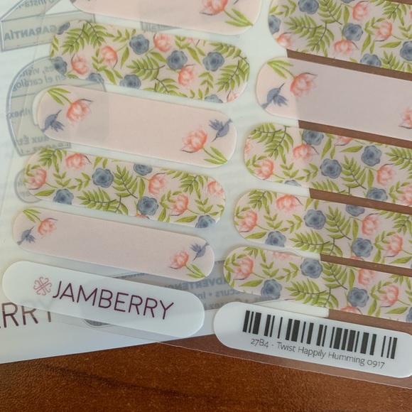 Jamberry Other - B3G1 Jamberry Twist Happily Humming Full Sheet!!